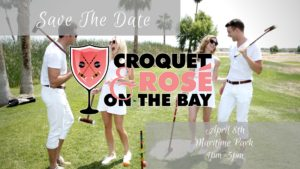 Croquet and Rose by the Bay 2018